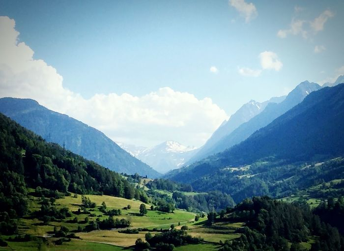 Landscape_photography Landscape_Collection Switzerland Mountain Sky Scenics - Nature Cloud - Sky Beauty In Nature Tree Tranquility Tranquil Scene Plant Mountain Range Landscape Environment Nature Day Non-urban Scene Land Idyllic Green Color No People