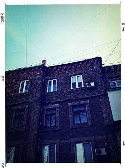 Sky Building Roof Brick
