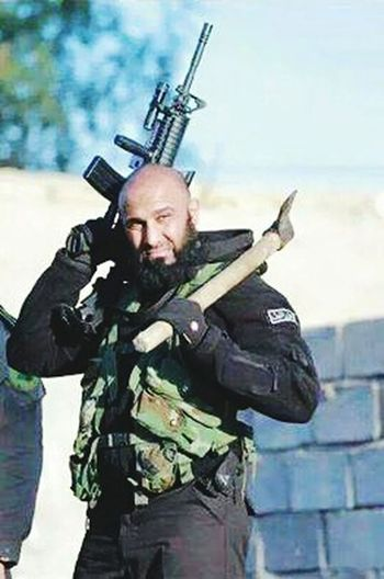 Legend Of Iraq.... His Mission Send Isis To Hell