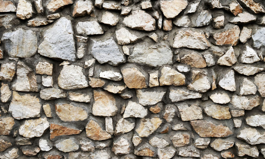 Full frame image of stone wall