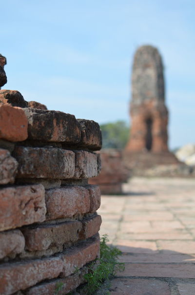 Brick Day EyeEmNewHere Focus On Foreground Nature No People Outdoors Ruin Sky Stack Temple Thailand Travel Destinations The Secret Spaces Break The Mold Art Is Everywhere The Great Outdoors - 2017 EyeEm Awards Been There. Lost In The Landscape Done That. Connected By Travel Perspectives On Nature An Eye For Travel
