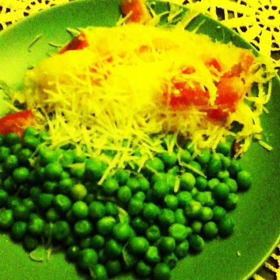 40daylentchallenge Peas Spaghettisquash