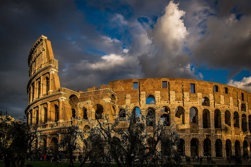 Coloseum Italien Rom Rome Ancient Ancient Civilization Architecture Building Exterior Built Structure City Cloud - Sky Coloseum Rome Day History Italy No People Old Ruin Outdoors Sky Tourism Travel Destinations An Eye For Travel