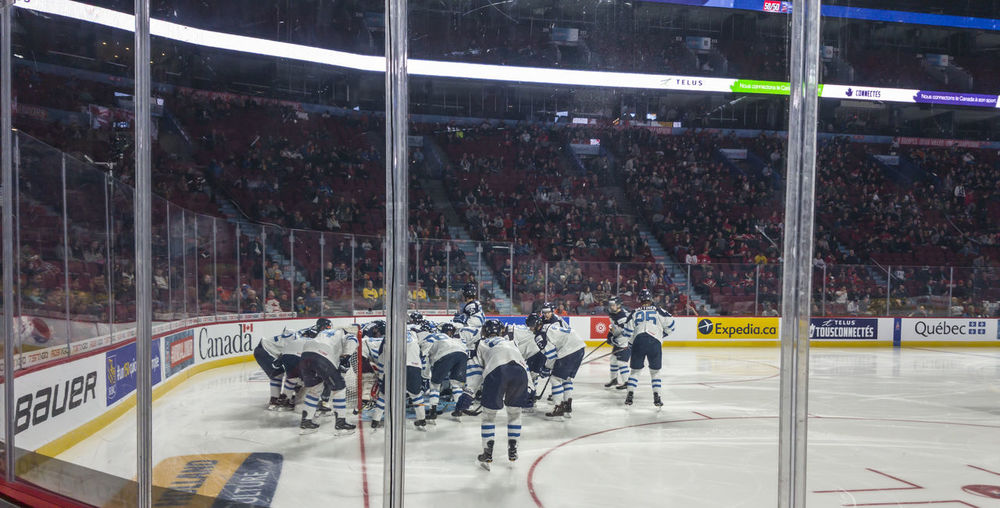 Centre Bell sports complex venue in Montreal, Canada. Seats and ice hockey field view. Centre Bell sports venue in Montreal, Canada during ice hockey game. Bell Center Bell Center Montreal Canada Centre Bell Centre Bell Montreal Competition Competitive Sport Crowd Hockey Hockey Arena Hockey Game Hockey Players Hockey Teams Ice Hockey Ice Hockey Game Ice Rink Montreal, Canada Montréal People Sport Sports Race Sports Team Stadium Venue Winter Sport