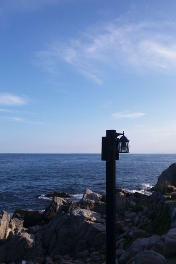 History Sea Sky Travel Destinations No People Tranquility Horizon Over Water Day Clear Sky Outdoors Lighthouse Prison Gyeongsangbukdo Lost In The Landscape Connected By Travel Water Nature Beauty In Nature Tranquil Scene Scenics Blue Sunlight