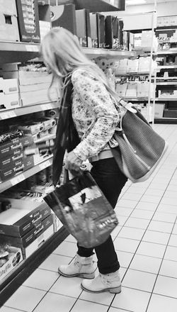 Streetphotography Sonyxperiaz1 Black And White Photography Grocery Shopping