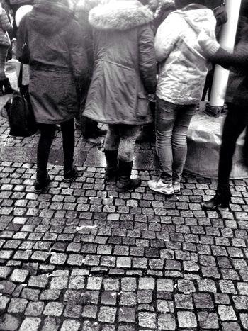Waiting Gothenburg Blackandwhite People Waiting