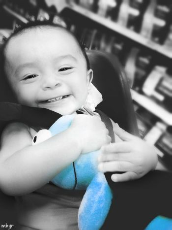 Happiness Smiling Baby Portrait One Person Childhood People Life Places Photography Colorsplash Simple Life Picsart_family Picsartrefugees Love Eyem Best Shots IloveIT ♡ Color Eyes EyeEm Best Shots - Black + White Eyeemphotography Day Happyweekend