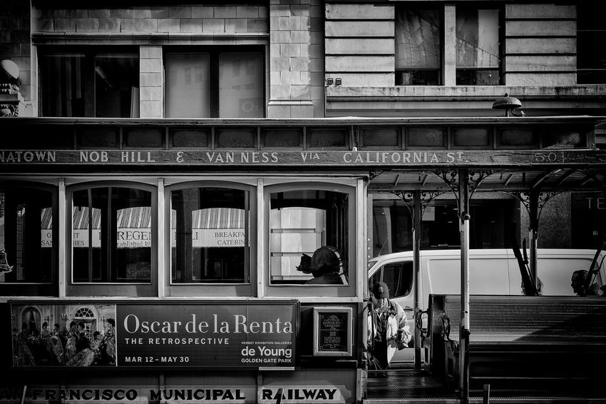 Ready to go Blackandwhite Monochrome San Francisco