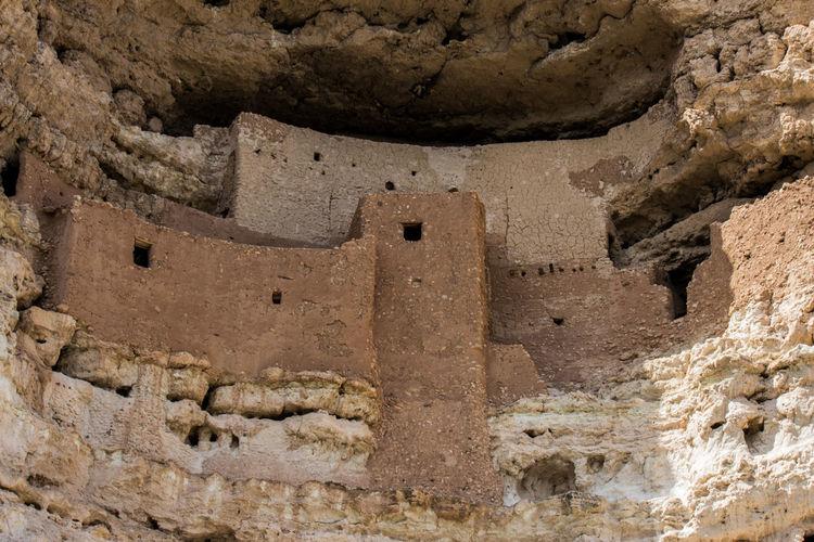 Aboriginal Arid Climate Arizona Cliff Dwelling Dwellings Indian Montezuma's Castle Rocks Ruins