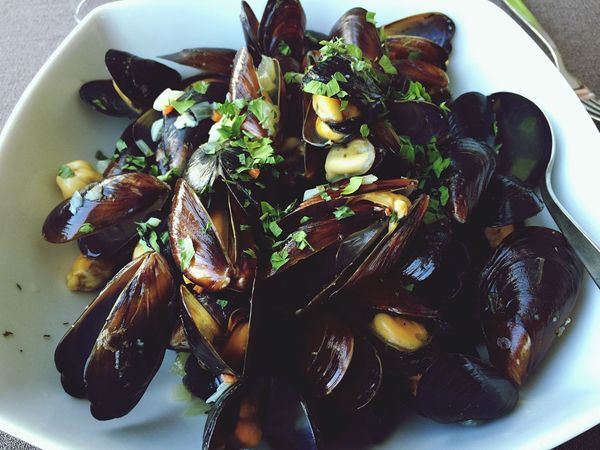 Mussels Mussels Mussel Seafoods Seafood Yum:) Enjoying Life Eating Healthy Eat Eatclean Lunch Homemade Homemade Food Restaurant Dinner Mediterranean Food Paleo Cooking Paleo Diet Mediterranean