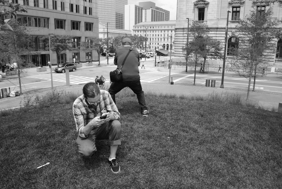 Republican National Convention 2016 Downtown Cleveland RNC2016 Cleveland ClevelandgramArchitecture Building Building Exterior Built Structure Casual Clothing City City Life City Street Day Full Length Grass Leisure Activity Lifestyles Outdoors The Street Photographer - 2017 EyeEm Awards The Photojournalist - 2017 EyeEm Awards The Portraitist - 2017 EyeEm Awards