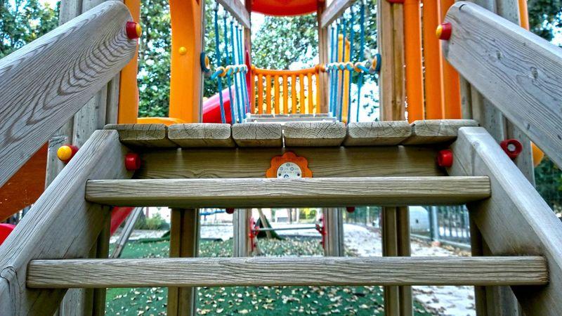 Parco Giochi Enjoying Life Relaxing Children Playground Playing Games Playgrounds Playground Structure