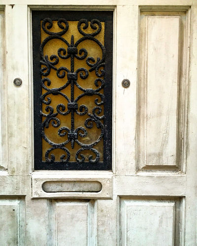 Door Closed Creativity Design Door Entrance Full Frame Geometry Ornate Pattern Symmetry Textured  Wall Wall - Building Feature Window