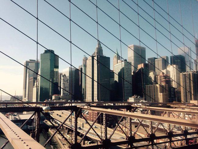 Brooklyn Bridge  Brooklyn Brooklyn Bridge / New York Travel Photography Travel Traveling View Cityview Picture Building Bridge Photography NYC Loving Life! New York City Walking Around Eyeemphotography EyeEm