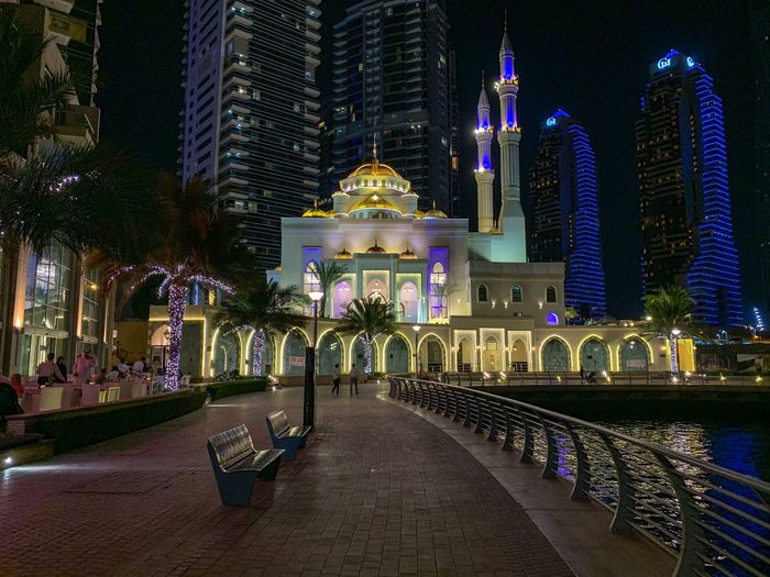 Architecture Built Structure Night Illuminated Building Exterior Religion Building City Place Of Worship