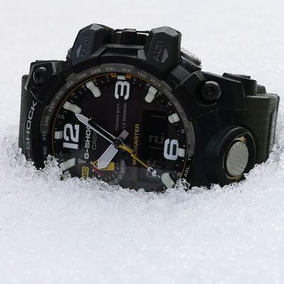 Clock Time Outdoors Gshockwatch GshockCasio Gschock Casio G-shock G-Shock ⌚ Mudmaster Gshock Clock Face Casio