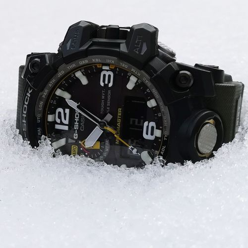 Clock Time Outdoors Gshockwatch GshockCasio Gschock Casio G-shock G-Shock ⌚ Mudmaster Gshock Clock Face Casio