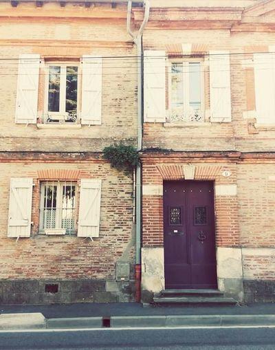 Toulouse Paul Sabatier Ramonville LaVilleRose Street Photography Buildings Doorporn Studyabroad