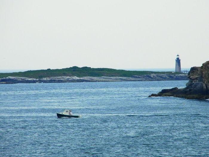 Maine Maine Coast Boats Light House