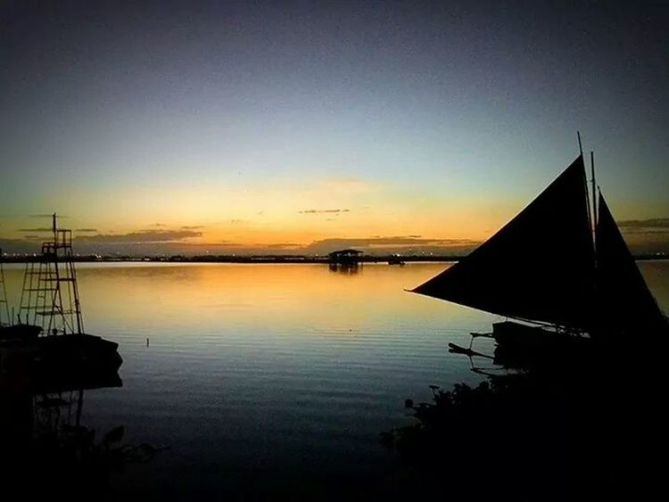 My Happy Place  Laguna De Bay Dusk After Sunset