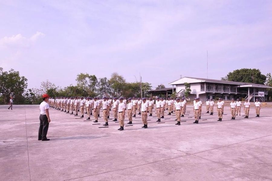 Royal thai police trainning