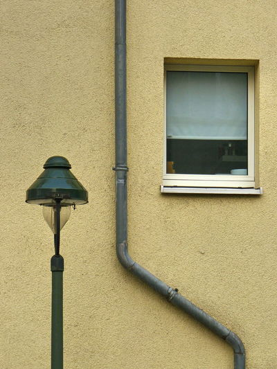 Street Lamp Architecture Building Exterior Built Structure Close-up Day Down Pipe No People Rain Pipe Technology Wall - Building Feature Window EyeEm Ready   The Graphic City The Architect - 2018 EyeEm Awards