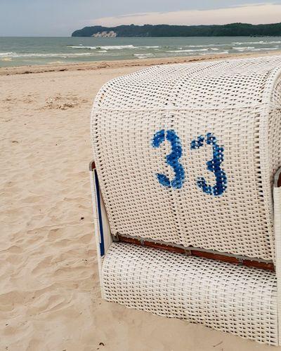 Beach 33 Sea Baltic Sea Rügen Strandkorb EyeEm Selects Water Sea Differing Abilities Beach Sand Wheelchair