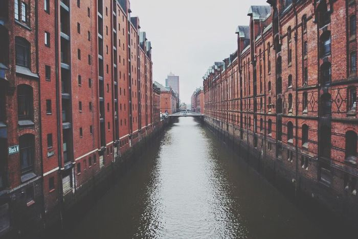 Architecture Canal Built Structure City Day Waterfront No People Water Outdoors Sky