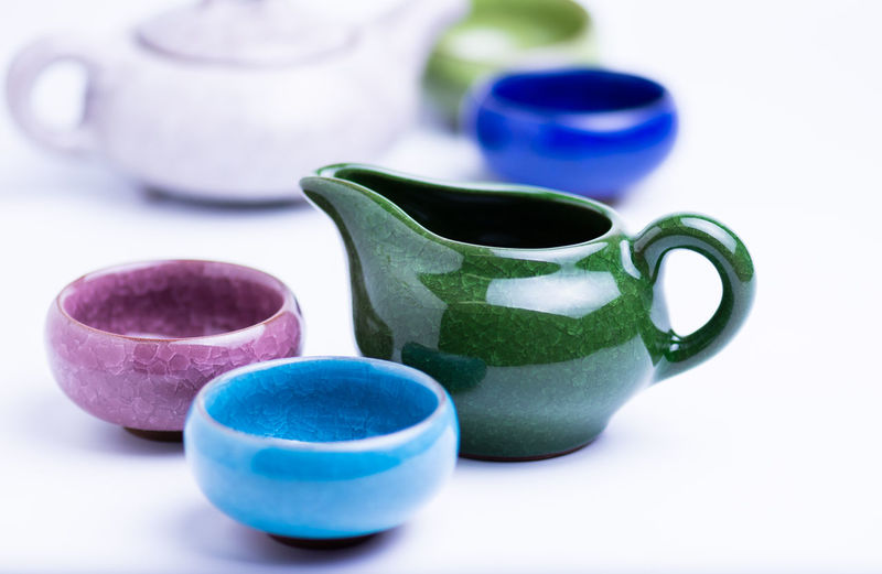 Set of cups for