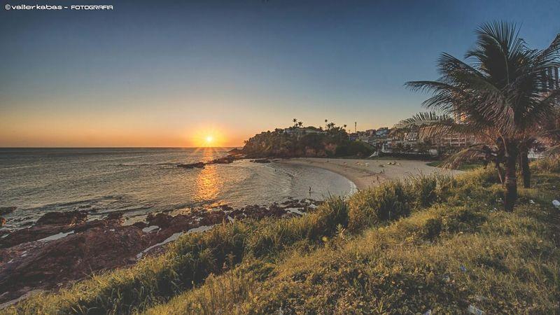 Praia da paciência - Rio vermelho - Salvador - Bahia - Brasil Riovermelho Sunset Pordosol Brasil