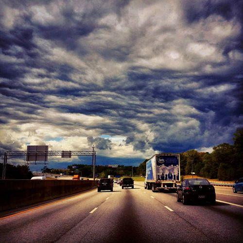 I20 West Atlanta Atlanta, Georgia Interstate 20 Road Pics Georgia Urban Landscape Traffic Lithonia