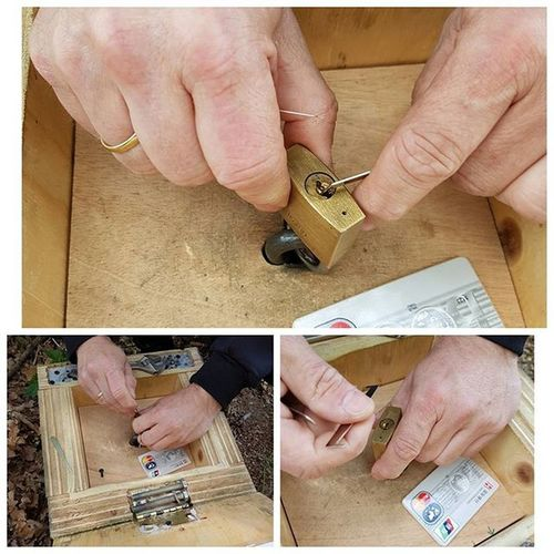 Lockpicking auf