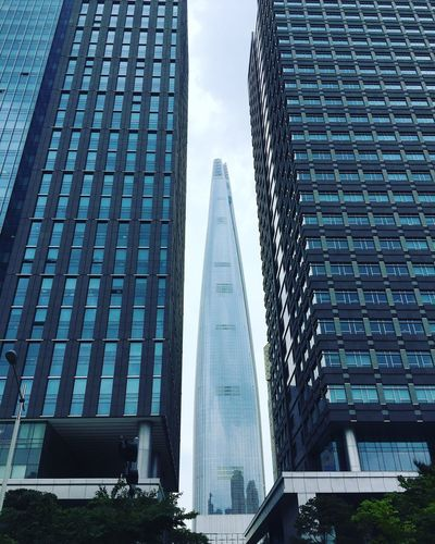 롯데월드타워 Lotteworld Tower 삼성sds Samsung Sds