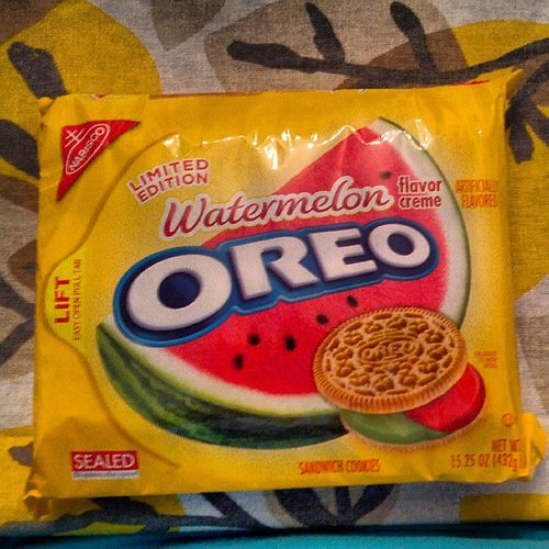 Limited Blackman edition. NothingButTheBest Theyneedachickenflavor Isthattooracist Watermelon Oreos