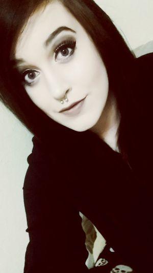 Modded Blackhair Beauty Confident  Feeling Sexy Stillhotthough Fabulous Makeup Edgy Darkmakeup