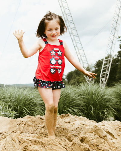 Childhood Day Elementary Age Golf Course Happiness Landscape Landscape_Collection Leisure Activity Looking At Camera Nature Nature Photography One Person Outdoors Portrait Preschool Age Queen Of The Hill Real People Sand Smiling Top Of The World Young Adult