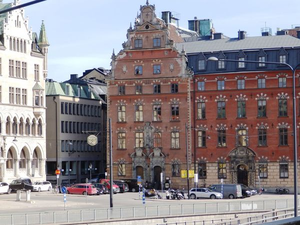 old quarter, Stockholm Architecture Building Building Exterior Built Structure City City Life City Street Day Exterior Façade Outdoors Stockholm Tourism Travel Destinations