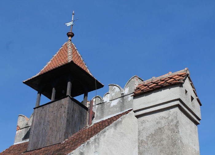 Roof of church against sky