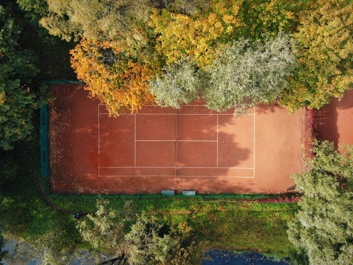 Dji Dji Mavic DJI Mavic Air Drone  Dronephotography High Angle View Playground Court Tree Flower Architecture Plant Built Structure Green Color