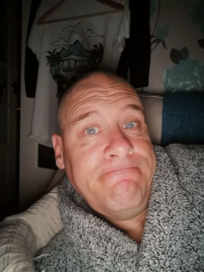 Sleeping on the sofa tonight. Up in two hours. Not been to sleep yet and wife is snoring. Portrait Looking At Camera Headshot Men Human Face Human Eye Mid Adult Mid Adult Men Close-up