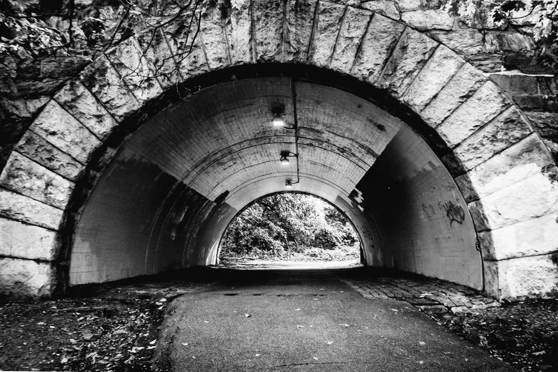 Tunnel Architecture Built Structure Arch No People Indoors  Water Day Nature Newyork Picoftheday Photooftheday NYC Photography NYC Photography Streetphotography Travel Destinations The Way Forward Road Street Blackandwhite Black And White Blackandwhite Photography Style Blogger