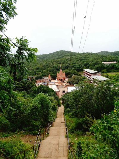 Khoor Sıkar Rajasthan Green Trees Mountain Temple