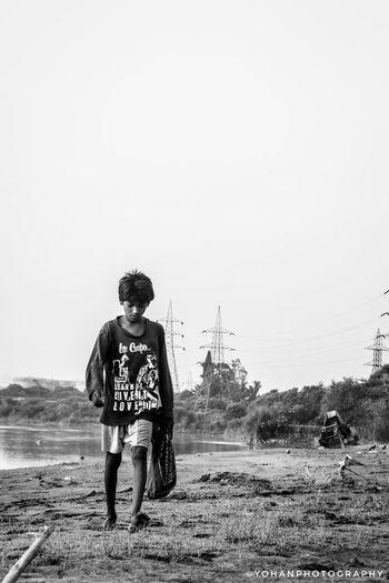 #Child #newdelhi #photography #blackandwhite #river #yamunariver Child Full Length Childhood Beach Sand Boys Water Sky Surfer Water Sport Fisherman Fishing