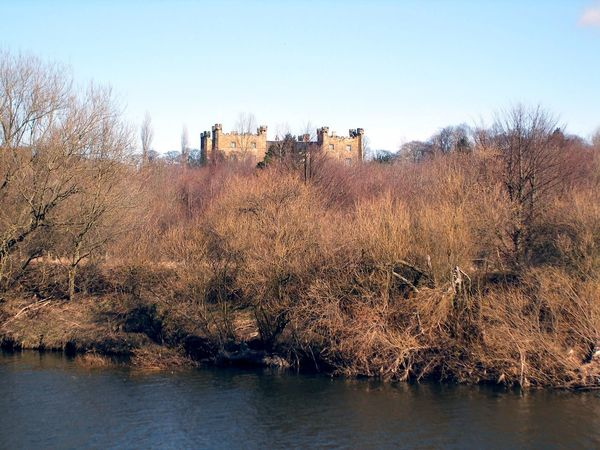 Lumley Castle overlooking the River Wear. #JustMe #Nature  #photography #EyeEmNewHere #eyembestshot #castle  #landscape #nature #photography #calm #outdoor #countydurham #England #History Outdoors Day No People Sky Clear Sky Nature Tree Architecture