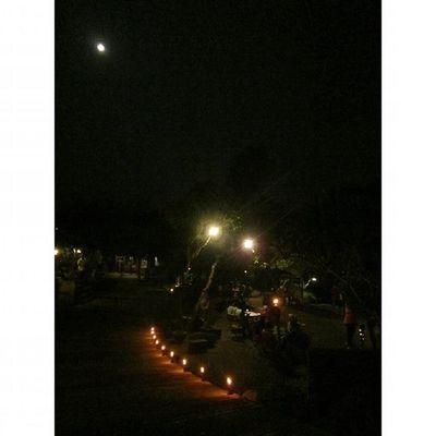 Dinner in the Moonlight Fullmoon at Kampunglumbung Kotabatu INDONESIA PwC Lenovotography Photooftheday Pocketphotography Photostory Lzybstrd