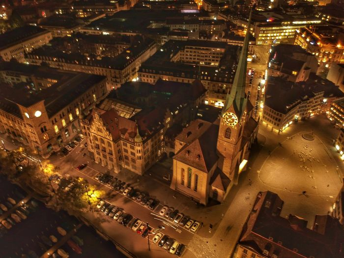Frauenmünster Church - Zurich, Switzerland 2018 DJI X Eyeem Dji Spark Dronephotography Illuminated Building Exterior City Night Architecture Cityscape High Angle View Built Structure Building No People City Life Street Residential District Aerial View Transportation Road Nature City Street Outdoors Nightlife Capture Tomorrow