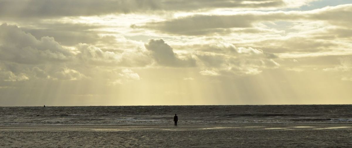 Another place Another Place Anthony Gormley Crosby Beach Liverpool Nature Rain United Kingdom Art Beach Cloud - Sky England Horizon Over Water Men Sand Sculpture Sea Sea And Sky Seascape Shadow Sky Sun Rays Sunset Uk Water Wind Farm