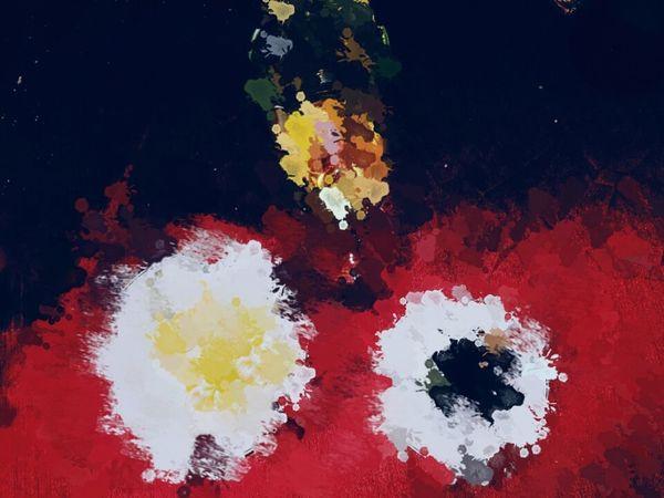 T r a d i t i o n Art Cuadro Nochevieja Champagne Uvas Mäntel Rojo Intenso Creación Multi Colored Red Talcum Powder Close-up Face Powder No People