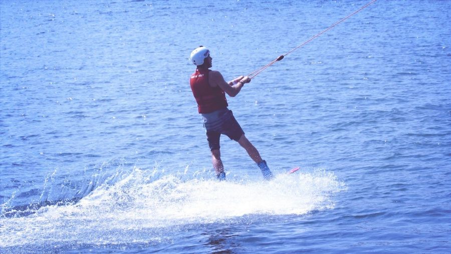 Wakeboarding Wakeboard Waves Water_collection